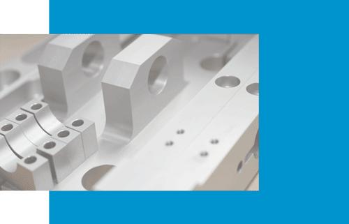 CNC-Präzisionsfrästeile aus Aluminium Serienfertigung